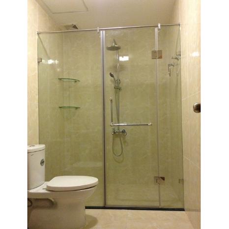 phòng tắm kính ở vinh