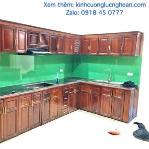 kính ốp bếp ở vinh