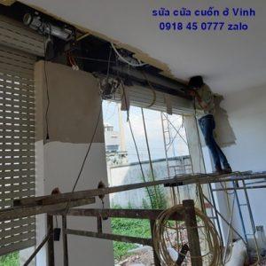 Sửa chữa cửa cuốn ở Vinh Nghệ An